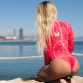 red_Long-sleeve_model-2