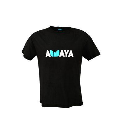 Tshit Awaya Man Black front