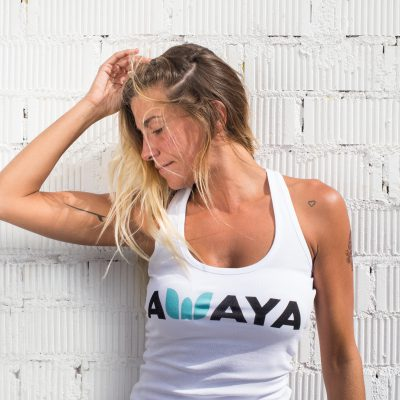 Awaya Singlet White