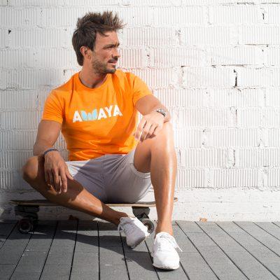 Orange Tshirt Awaya