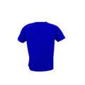 Tshirt back Eletric Blue