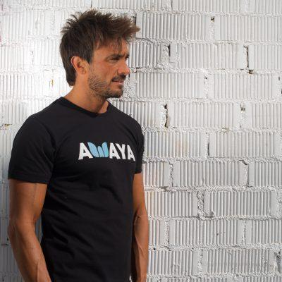 Tshirt Black AWAYA Man