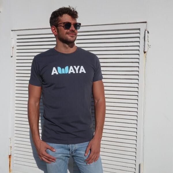 T-shirt Dark Grey Awaya