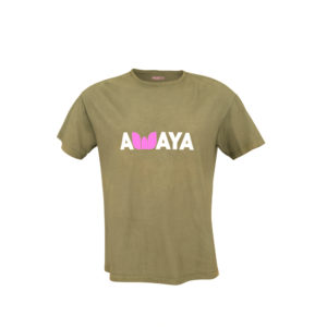 145 gr Organic Cotton AWAYA T-shirt . Comfort FIT