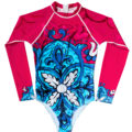 Lycra Surf/Water Bodysuit Long Sleeve with zip back